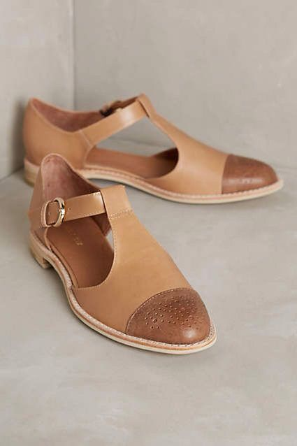 Anthropologie - T Strap Oxfords