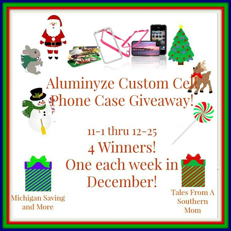 Aluminyze Custom Cell Phone Case #Giveaway (12/25 US)