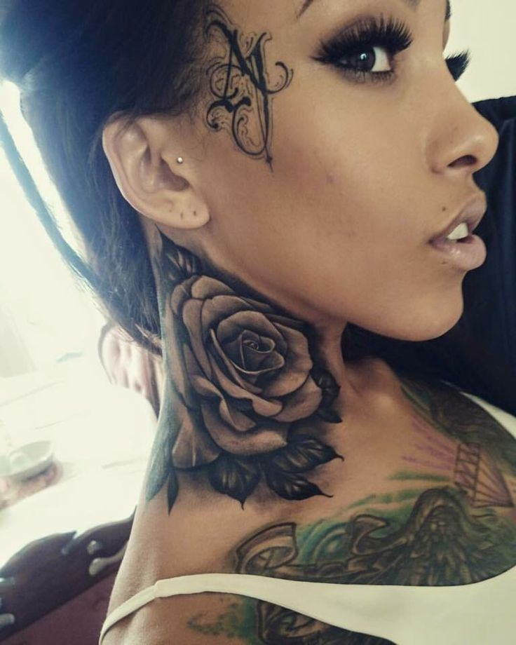 Tattoo For Womens Neck: NEW.!? SHE FOLLOWS BACK!! - @cmariarose