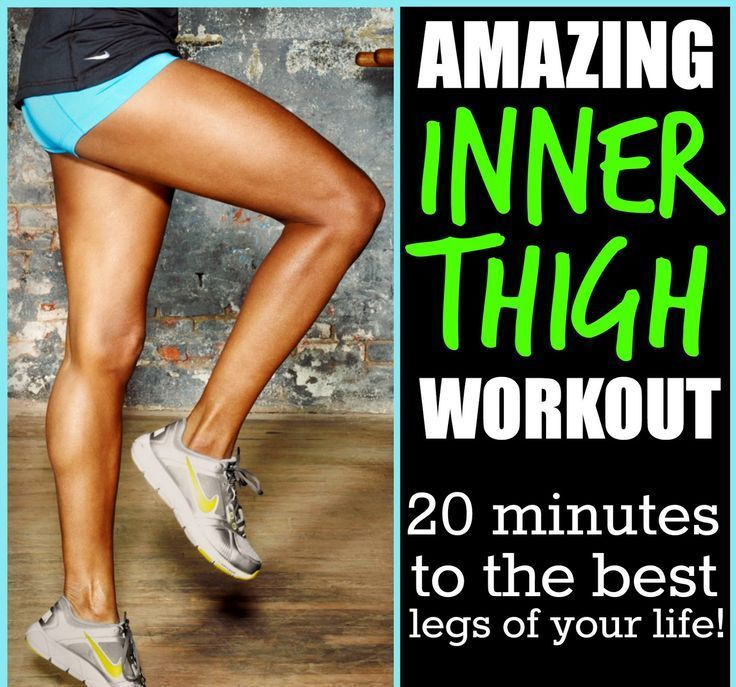 INNER THIGH WORKOUT – THE BEST MOVES TO SHAPE YOUR THIGHS!