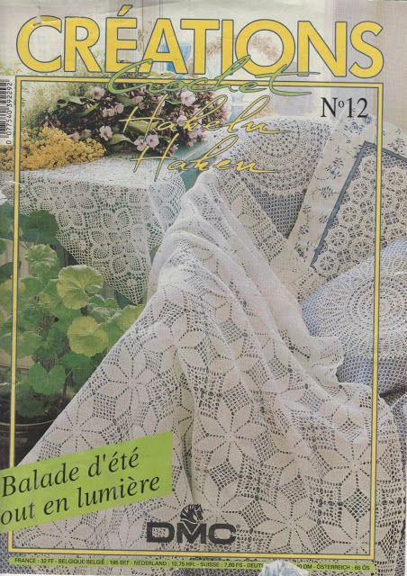 Creaciones Crochet nº 12 - 12345 - Picasa Web Albums UBRUSY, POLŠTÁŘKY, DEČKY