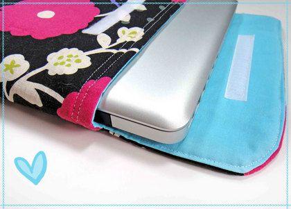 Zelf een laptophoes maken (naaien)