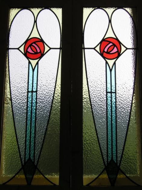 Art Deco Stained Glass Cabinet Inserts Leaded Glass Or Stained Glass Restoration And Creation