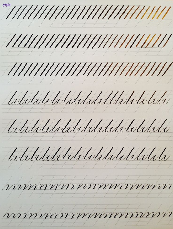 Copperplate Practice Strokes - Imgur