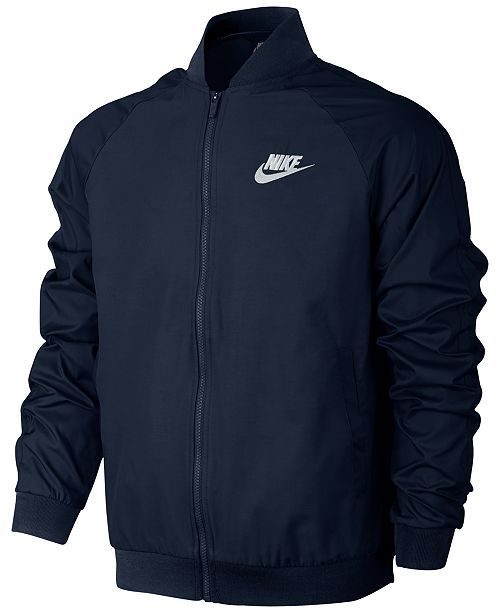 85d4a1333 Nike Men's Woven Players Bomber Jacket | Clothes, Shoes, Hats, and ...