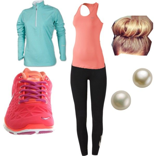 U0026quot;the gym outfit/ or lazy day outfit for schoolu0026quot; by angelaleal on Polyvore | Cute cloths ...