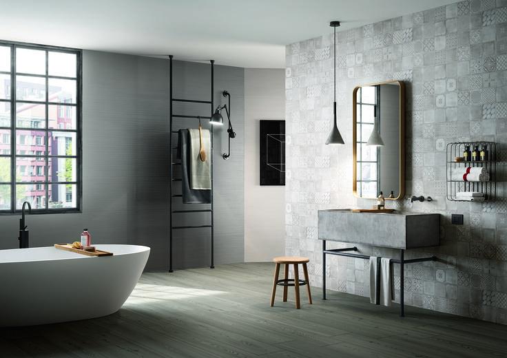 #Marazzi | #Treverktrend | #floor | #bathroom | #woodtiles | #materika |