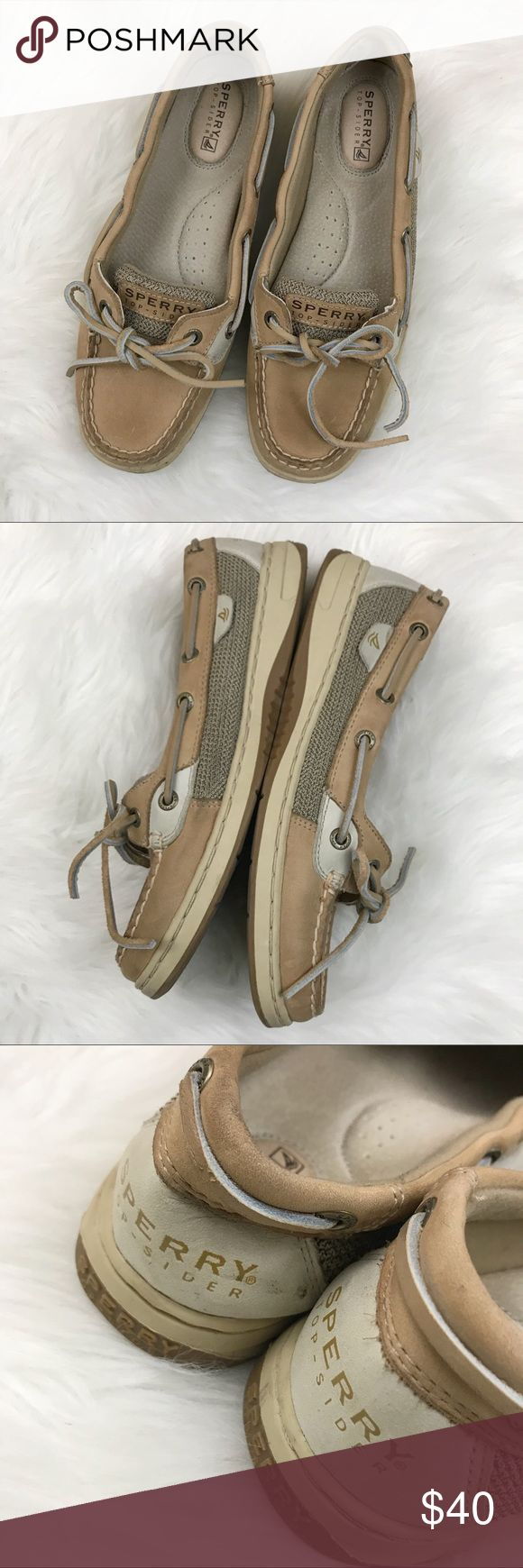 Sperry Top-Sider Angelfish Boat Shoes Sperry Top-Sider Angelfish Boat Shoes. GUC. Leather. Lace up. Size 7.5. Sperry Top-Sider Shoes Flats & Loafers
