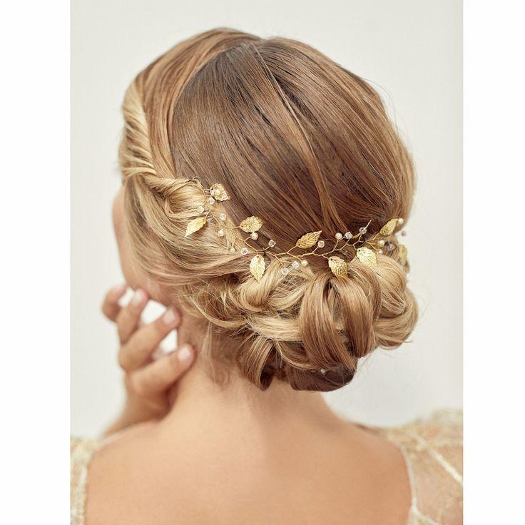 Vigne Cheveux Mariee Diademe Mariage Boheme Bijoux De Tete Cheveux De Mariee Bijoux Cheveux Mariage Cheveux Mariage Chignon