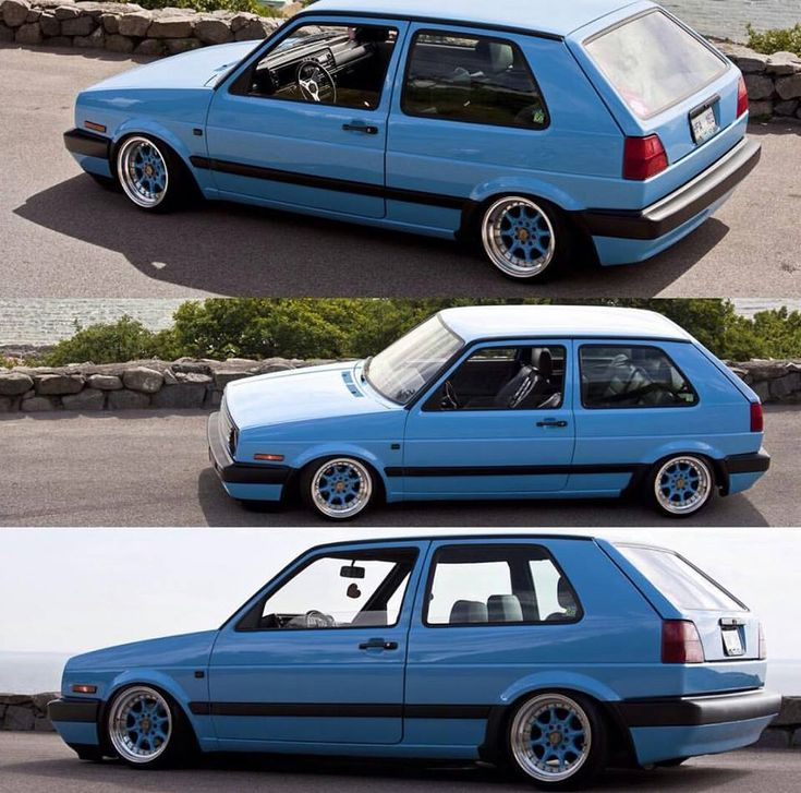 Golf MK2 - tuning, low