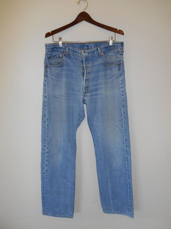 90's Levis 501s jeans 501 button up levi by ATELIERVINTAGESHOP