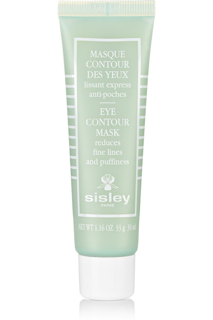Sisley Eye Contour Mask. For puffiness and dark circles. Leave at least 10min or all night.