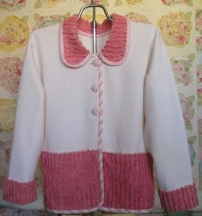 Yes, It's a Sweatshirt Jacket, I so want to make one of these....