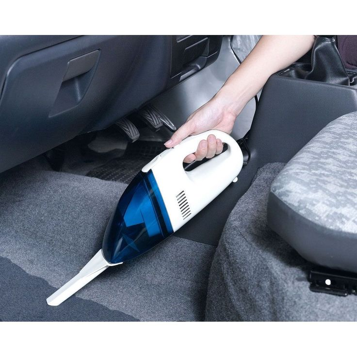 White/ Portable Handheld Car Vacuum