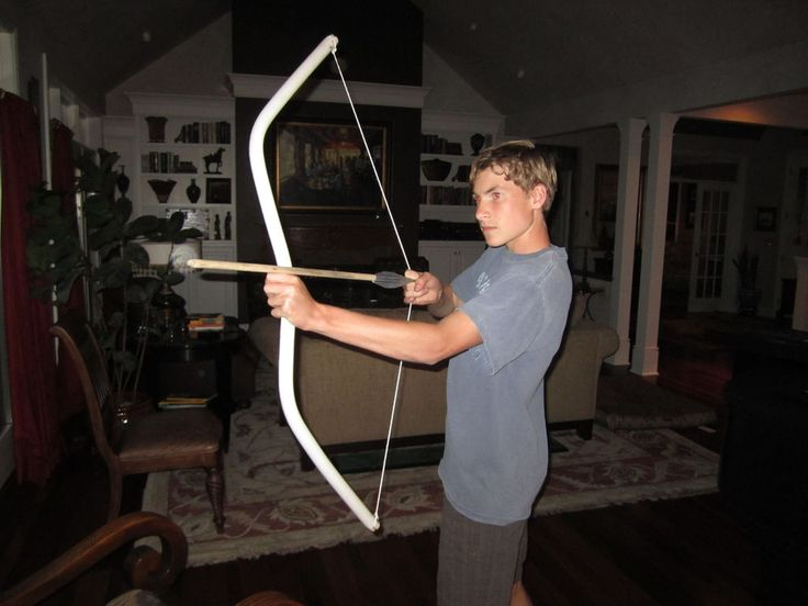 how to make a pvc elven bow