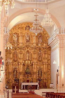 Nuestra Señora del Rosario church in Rosario Sinaloa Mexico