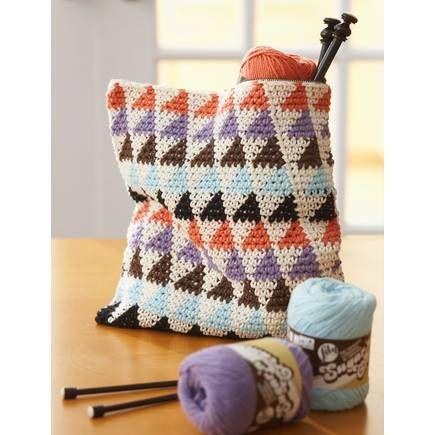 Free Pattern Lily Sugar 'N Cream Multi Use Bags | Hobbycraft