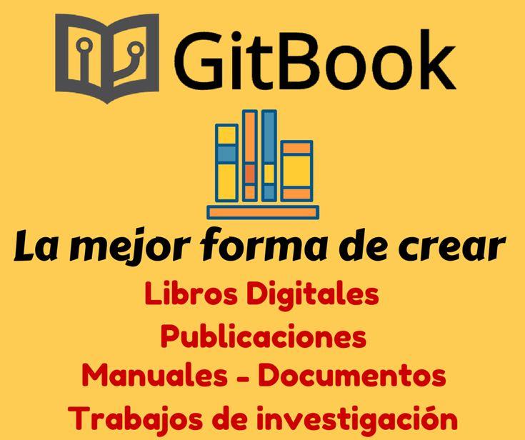 GitBook es la mejor forma de crear libros digitales, publicaciones, articulos e investigacionesde forma colaborativa y fácil. Emplea GIT como control
