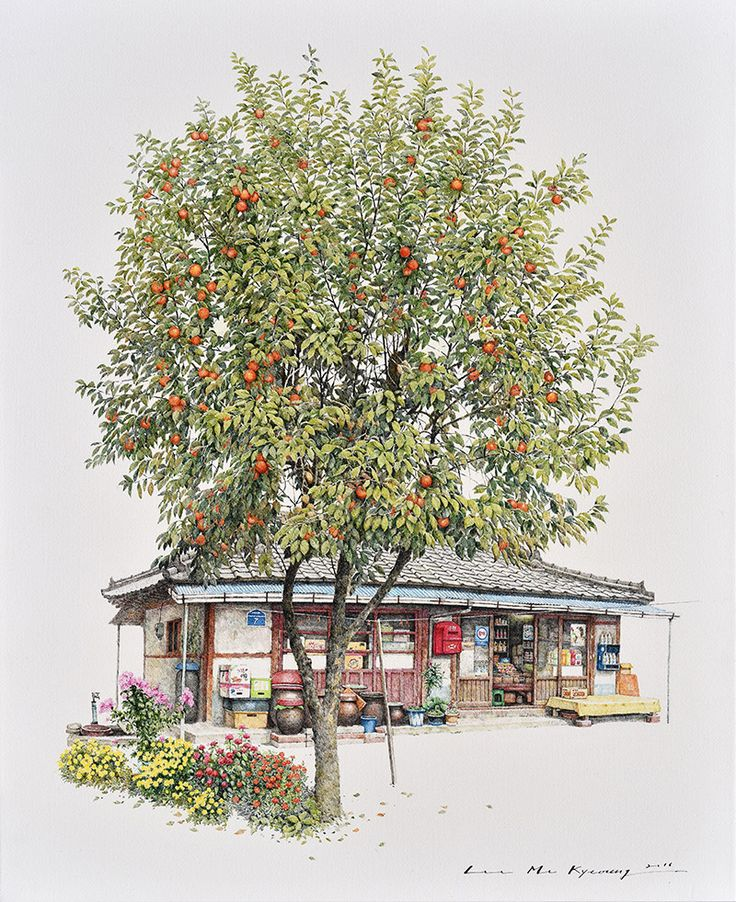 Two Decades of South Korean Corner Store Illustrations by Me Kyeoung Lee   Colossal