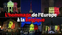 Les capitales européennes rendent hommage aux victimes belges