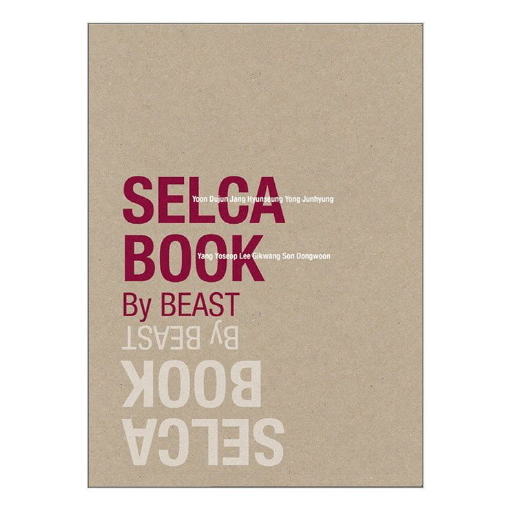 SELCA BOOK By BEAST K-pop Self-Photo Yoon Doo-joon Lee Gi-kwang Yong Jun-hyung/비