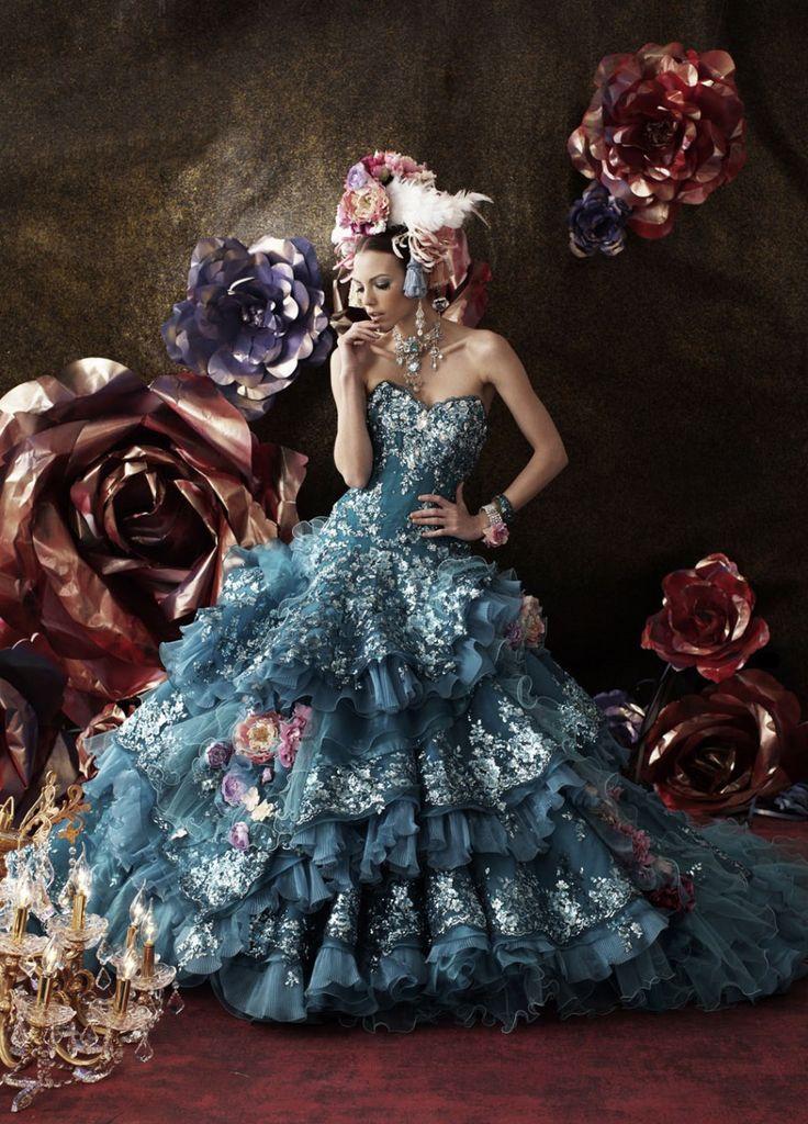 Stella de Libero fantasy wedding dress.