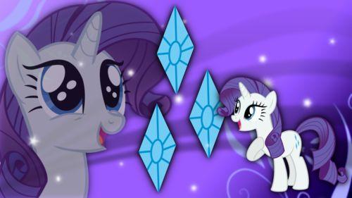 Wallpaper of Rarity Wallpaper for fans of My Little Pony Friendship is Magic. Just a random wallpaper of Rarity