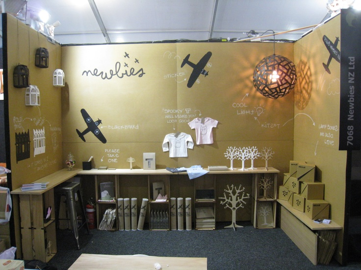 Newbies trade show stand
