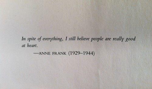 ♡ anne frank. so inspiring