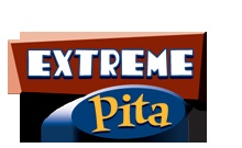Extreme Pita - we love this menu.  They've done a great job offering pint size offerings that are healthy.