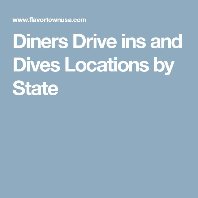 Diners Drive ins and Dives Locations by State http://www.deepbluediving.org/split-fins-vs-regular-fins/