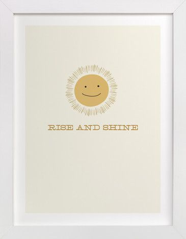 """Rise and Shine"" - Drawing Limited Edition Art Print by Laura Condouris"