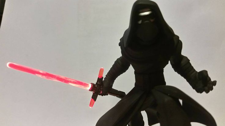 Light FX Kylo Ren Figure Custom by Fernando Velez - another incredible addition to the Light FX family!