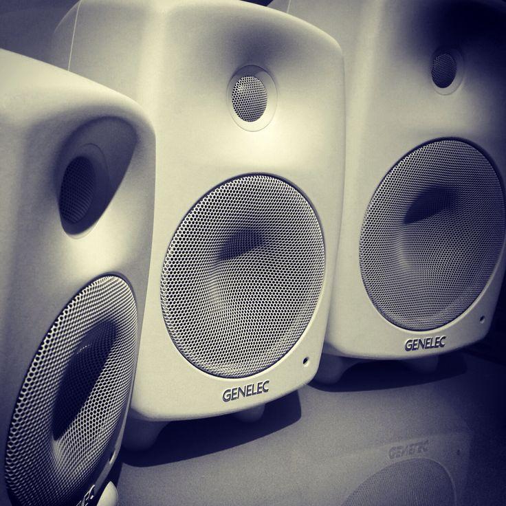 Active #Genelec loudspeakers @Hifimesta