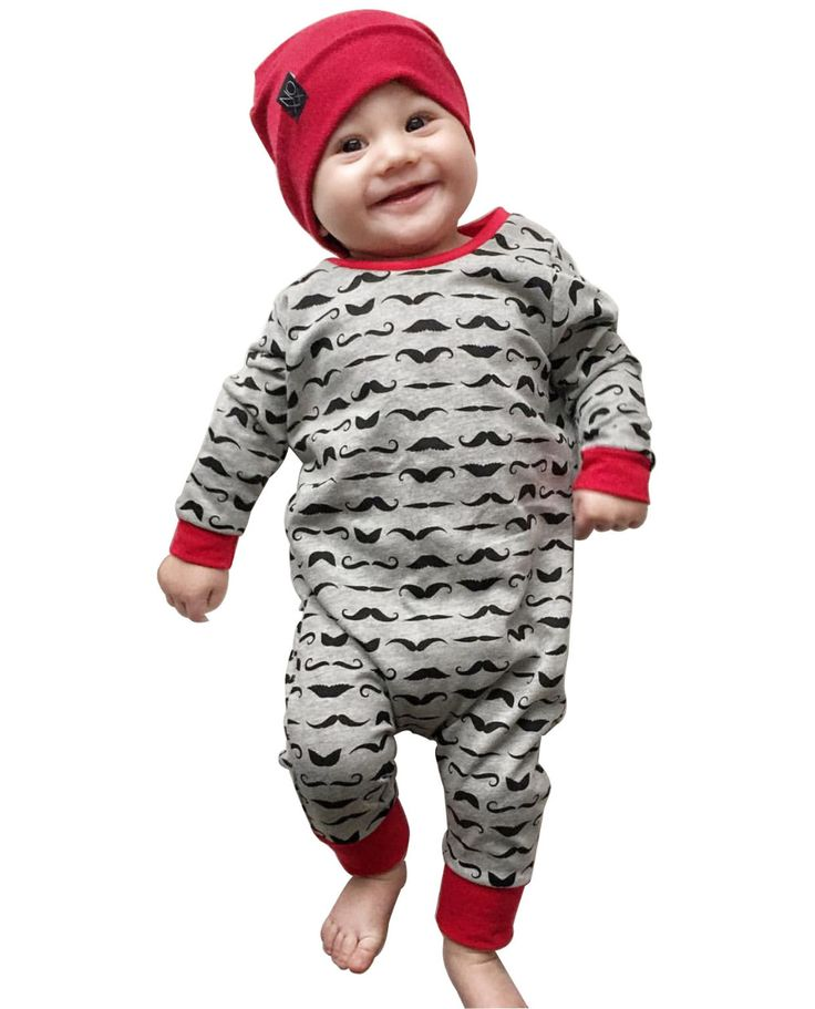 New 2017 Fashion Newborn baby boy girl romper Cotton long sleeves Cartoon beard One-pieces Jumpsuit Infant clothes Outfits //Price: €11.26 & FREE Shipping //   #fashion #baby #clothes #trendy #2017