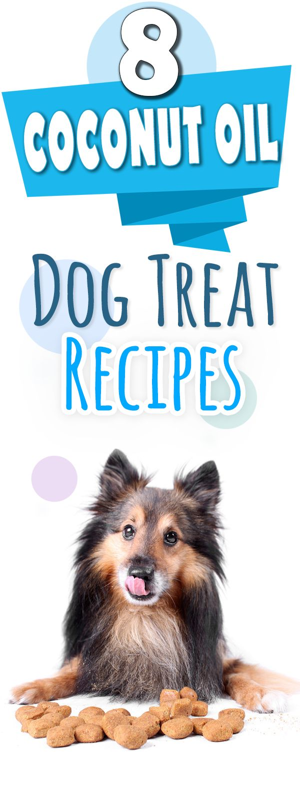 Coconut oil has SO many health benefits for your dog! This is an awesome list of easy homemade coconut oil recipes for dog treats.
