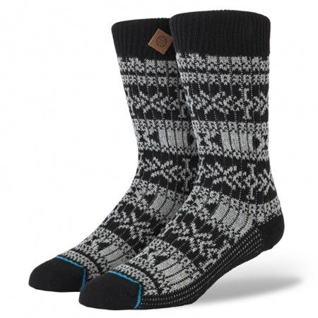With classic styling and clean craftsmanship, Stance's Alpaca gives a nod to the past. Designed to be worn with your favorite boots, this thick-knit sock provides enduring comfort. For a plush ride—and additional durability—the Alpaca features a reinforced heel and toe. The sock's wool wicks moisture from your feet and helps keep things comfy $18