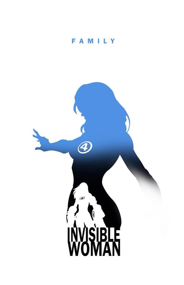 'Fantastic Four' - 'Invisible Woman'