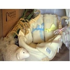 Merino and Romney Baby Cot Blanket Made by Romney Marsh Wools in #Kent - £69.96