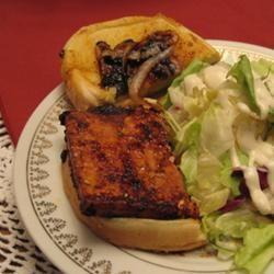 Steaks de tofu au barbecue @ http://allrecipes.fr