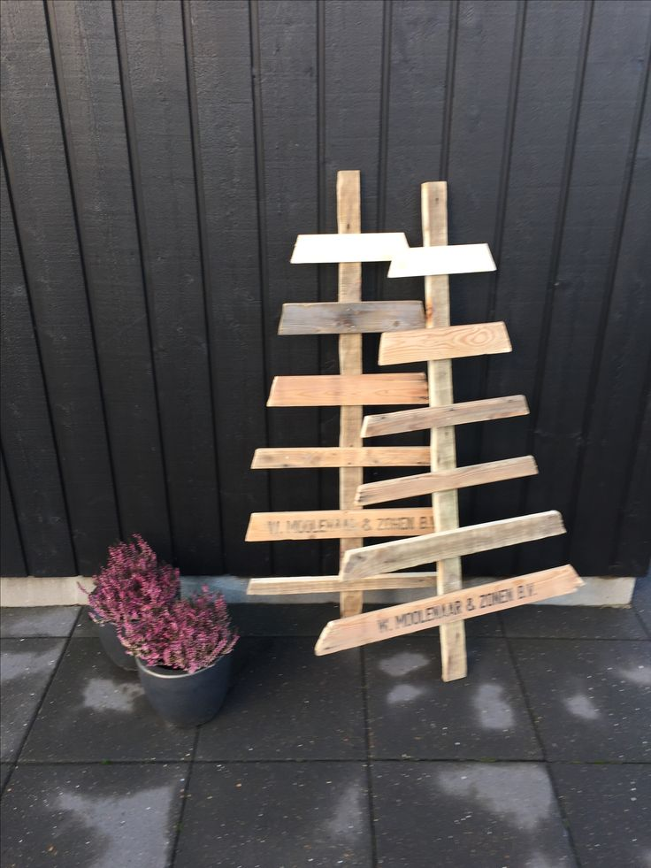 Upcycled pallets
