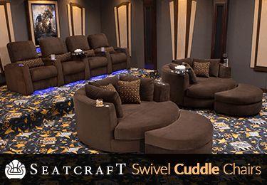 Seatcraft Swivel Cuddle Chair