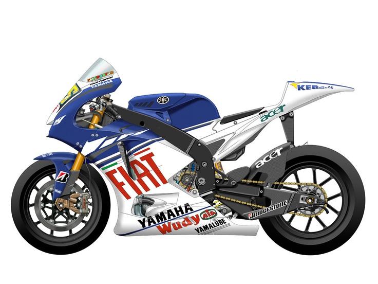 Yamaha YZR-M1 2008 - Fiat