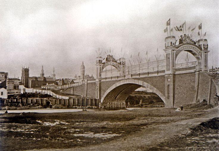 The first Princess bridge..Melbourne