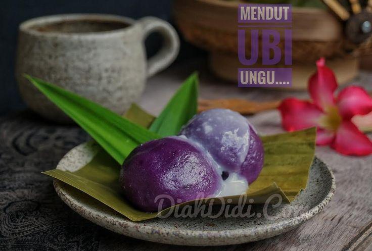 Diah Didi's Kitchen: Mendut Ubi Ungu