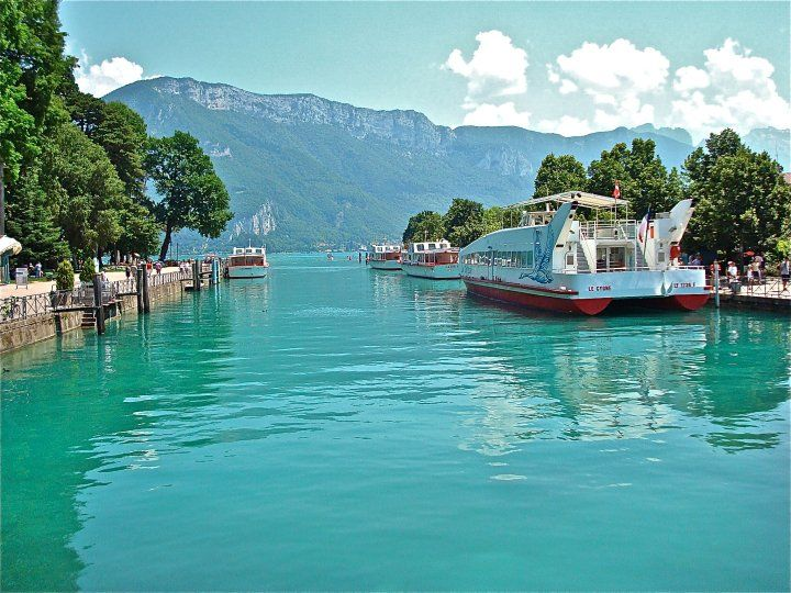 Lake Annecy ~ Upper Savoy ~ Auvergne-Rhône-Alpes ~ France