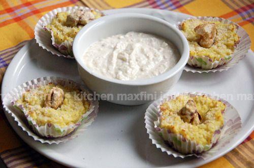 maxfini in the kitchen - Tortino di cavolo con fonduta di quartirolo e castagne