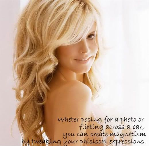 Tips from Heidi Klum on how to look Fabulous on pictures!