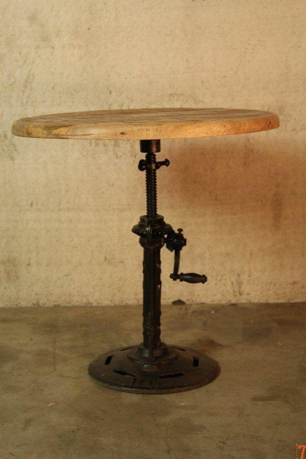 1000 images about meuble industriel on pinterest - Table basse rehaussable ...