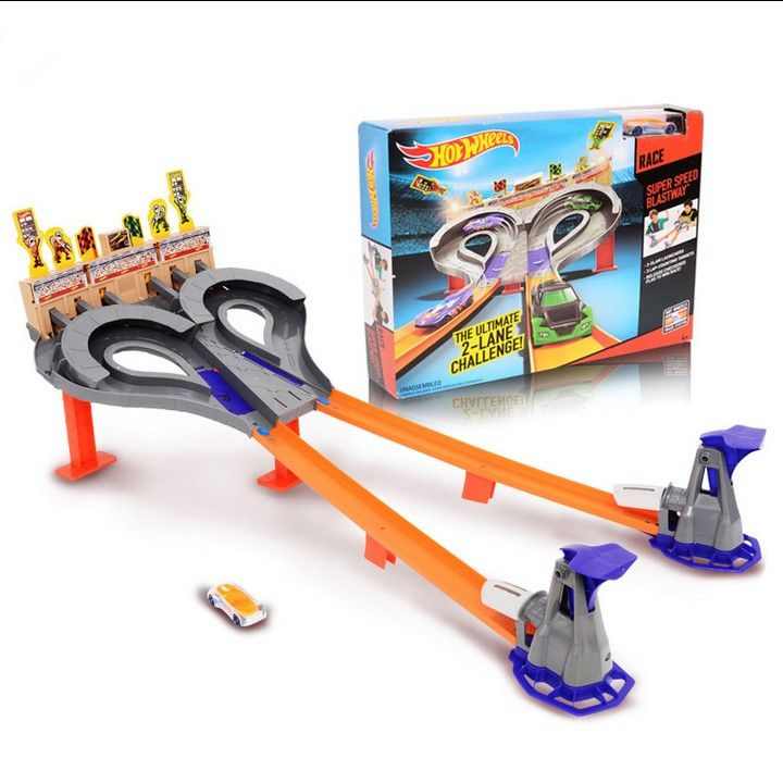 On Stock Hot Sale 100% Original Hot Wheels Whirlwind Sporting Track Set Toys Best Gift For Boys Kids Toy The Best Choice #Affiliate